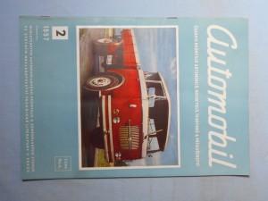 náhled knihy - Automobil časopis průmyslu motocyklů, automobilů, traktorů a příslušenství : Ročník 1., číslo 2.