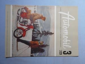 náhled knihy - Automobil časopis průmyslu motocyklů, automobilů, traktorů a příslušenství : Ročník 1., číslo 3.