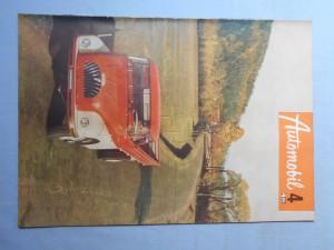 náhled knihy - Automobil časopis průmyslu motocyklů, automobilů, traktorů a příslušenství : Ročník 1., číslo 4.