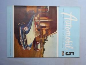 náhled knihy - Automobil časopis průmyslu motocyklů, automobilů, traktorů a příslušenství : Ročník 1., číslo 5.