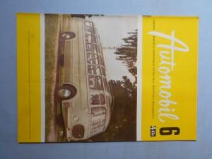 náhled knihy - Automobil časopis průmyslu motocyklů, automobilů, traktorů a příslušenství : Ročník 1., číslo 6.