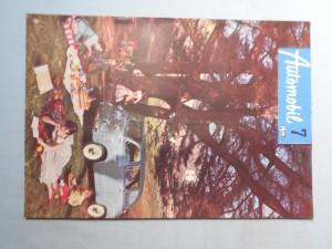 náhled knihy - Automobil časopis průmyslu motocyklů, automobilů, traktorů a příslušenství : Ročník 1., číslo 7.