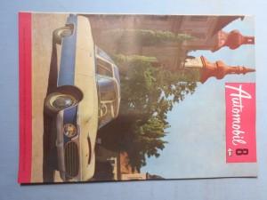 náhled knihy - Automobil časopis průmyslu motocyklů, automobilů, traktorů a příslušenství : Ročník 1., číslo 8.