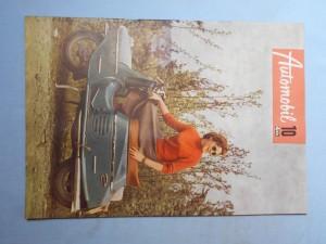 náhled knihy - Automobil časopis průmyslu motocyklů, automobilů, traktorů a příslušenství : Ročník 1., číslo 10.