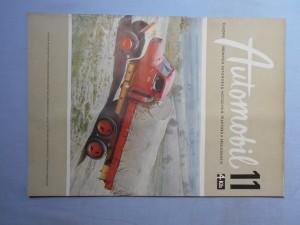 náhled knihy - Automobil časopis průmyslu motocyklů, automobilů, traktorů a příslušenství : Ročník 1., číslo 11.