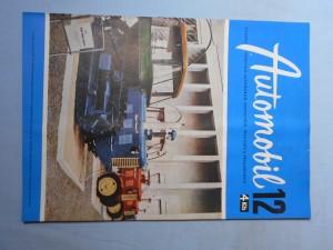 náhled knihy - Automobil časopis průmyslu motocyklů, automobilů, traktorů a příslušenství : Ročník 1., číslo 12.