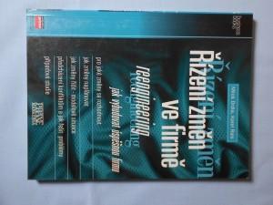 náhled knihy - Řízení změn ve firmě : reengineering : jak vybudovat úspěšnou firmu