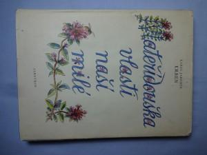 náhled knihy - Mateřídouška vlasti naší milé : výbor z říkadel a pohádek