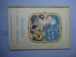 náhled knihy - Rozprávka o dedovi Mrázovi
