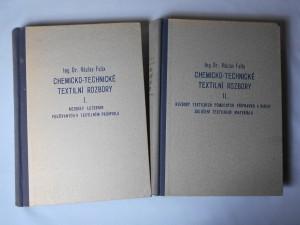 náhled knihy - Chemicko-technické textilní rozbory. Sv. 1, Rozbory lučebnin používaných v textilním průmyslu, Sv. 2, Rozbory textilních pomocných přípravků a barviv. Zkoušení textilního materiálu