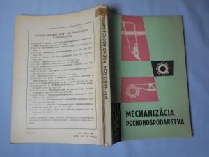 náhled knihy - Mechanizácia poľnohospodárstva : učebný text pre učebný odbor pestovateľ-chovateľ