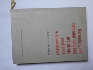 náhled knihy - Normalizované náhradní součásti pro stroje používané v zemědělství