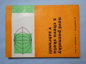 náhled knihy - Nové poznatky z chovu skotu v zahraničí