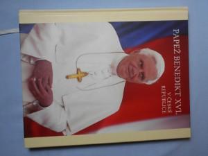 náhled knihy - Papež Benedikt XVI. v České republic