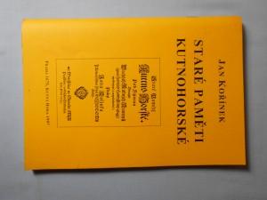 náhled knihy - Staré paměti kutnohorské