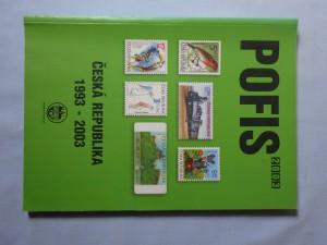 náhled knihy - Česká republika 1993-2003 : [specializovaná příručka pro sběratele poštovních známek a celin]