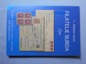 náhled knihy - Filatelie Burda : 11. písemná aukce