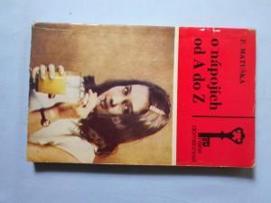 náhled knihy - O nápojích od A do Z