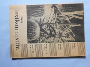 náhled knihy - Malý lexikon rostlin
