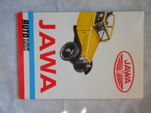 náhled knihy - Jawa : Auto Album Archiv (Sešitová encyklopedie světových automobilek od r. 1885)