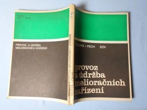 náhled knihy - Provoz a údržba melioračních zařízení