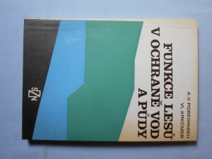 náhled knihy - Funkce lesů v ochraně vod a půdy