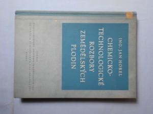 náhled knihy - Chemicko-technologické rozbory zemědělských plodin