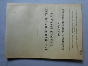 náhled knihy - Za vyšší úroveň čsl. bramborářství : Vědecko-technická konference z 26. 2. 1964