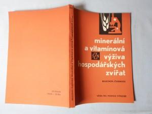 náhled knihy - Minerální a vitamínová výživa hospodářských zvířat
