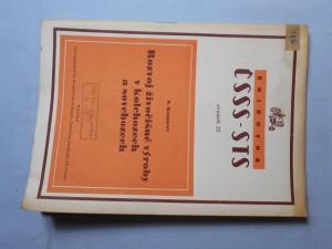 náhled knihy - Rozvoj živočišné výroby v kolchozech a sovchozech