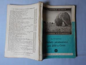 náhled knihy - Základy pícninářství pro JZD a ČSSS
