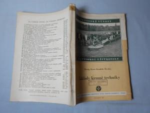 náhled knihy - Základy krmné techniky