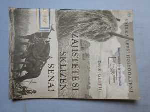 náhled knihy - Zajistěte si sklizeň sena! : Návod pro odborné používání sušáků při sklizni trávy, vojtěšky, jetele, směsky a j.