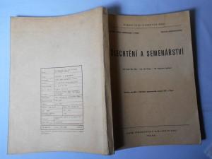 náhled knihy - Šlechtění a semenářství : Určeno pro posl. fak. agronomické