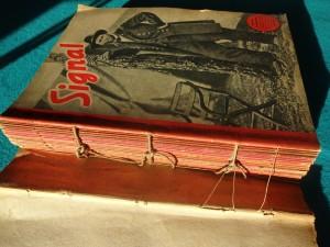 náhled knihy - Signal, 22 čísel časopisu , heft  1-19 z 1944 a 1, 3, 4 z 1945  + 4 Signal extra / Warsaw, V1, V2 /