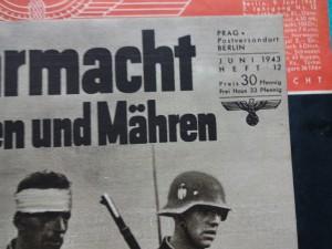 náhled knihy - DIE WEHRMACHT  / herausgegeben vom oberkommando der wermacht / 44 čísel + Wehrmacht im protektorat 3 čísla