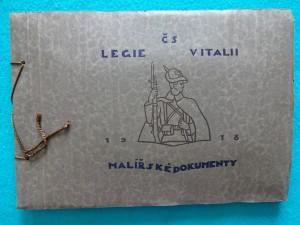 náhled knihy - Československé  Legie v Italii, Malířské dokumenty 1914 -1918,  1922