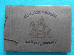 náhled knihy - Československé Legie v Rusku, Malířské dokumenty 1914 -1918,  99 Obrázků