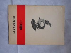 náhled knihy - Mikroskopy Meopta : Návod k obsluze