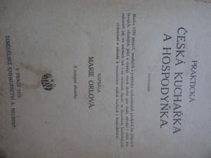 náhled knihy - praktická česká kuchařka a hospodyňka