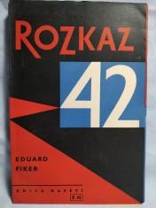 náhled knihy - Rozkaz 42