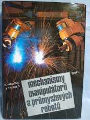 náhled knihy - Mechanismy manipulátorů a průmyslových robotů