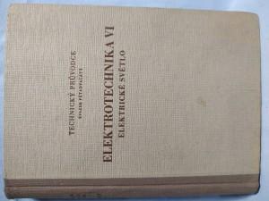 náhled knihy - Elektrotechnika VI : Elektrické světlo
