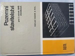 náhled knihy - Pozemní stavitelství pro 1. ročník středních průmyslových škol stavebních, studijního oboru Pozemní stavby