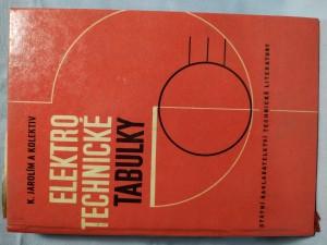 náhled knihy - Elektrotechnické tabulky