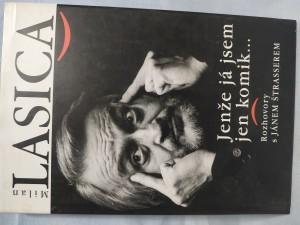 náhled knihy - Jenže já jsem jen komik... Rozhovory s Jánem Štrasserem