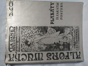 náhled knihy - Alfons Mucha : plakáty = plakati = posters : souborný katalog