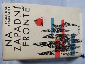 náhled knihy - Na západní frontě : historie československých vojenských jednotek na Západě v letech druhé světové války