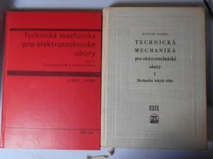 náhled knihy - Technická mechanika pro elektrotechnické obory : celost. vysokošk. učebnice. 1. [díl], Mechanika tuhých těles, 2.[díl], Hydromechanika a termodynamika