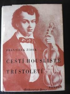 náhled knihy - Čeští houslisté tří století